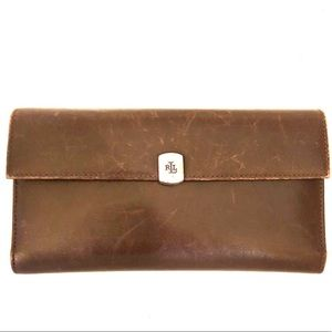 Ralph Lauren folder wallet. 40% off!